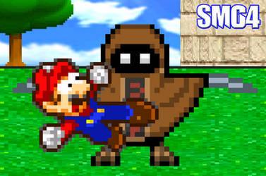 Mario vs Bob by BeeWinter55