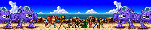 Straw Pirates vs Modern CN robots by BeeWinter55