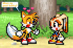 Tails likes Cream by BeeWinter55