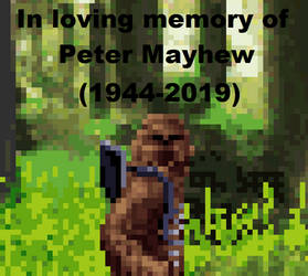 R.I.P. Peter Mayhew by BeeWinter55