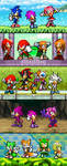 Sonic families by BeeWinter55