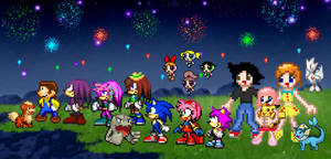 Friends, Family, and Fireworks