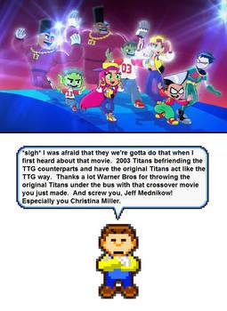 Reaction of The TT vs TTG movie