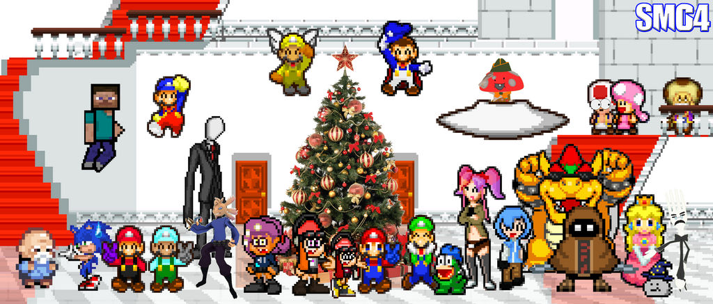 Smg4 2020 Christmas SMG4 Christmas (My AU) by BeeWinter55 on DeviantArt