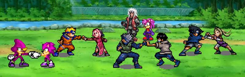 Ninja training by BeeWinter55