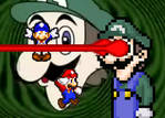 Mario and SMG4 vs Big Weegee by BeeWinter55