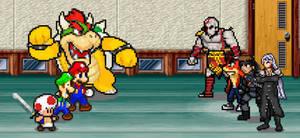 SMG4: Nintendo vs Sony