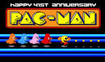Pac Man 41st Anniversary by BeeWinter55