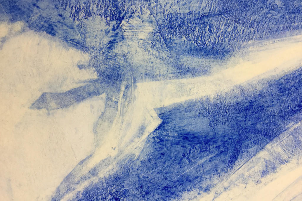 Abstract Blue by coiplet
