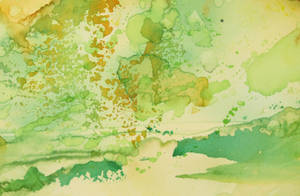 Abstract Yellow and Green by coiplet