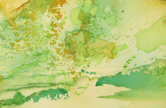 Abstract Yellow and Green