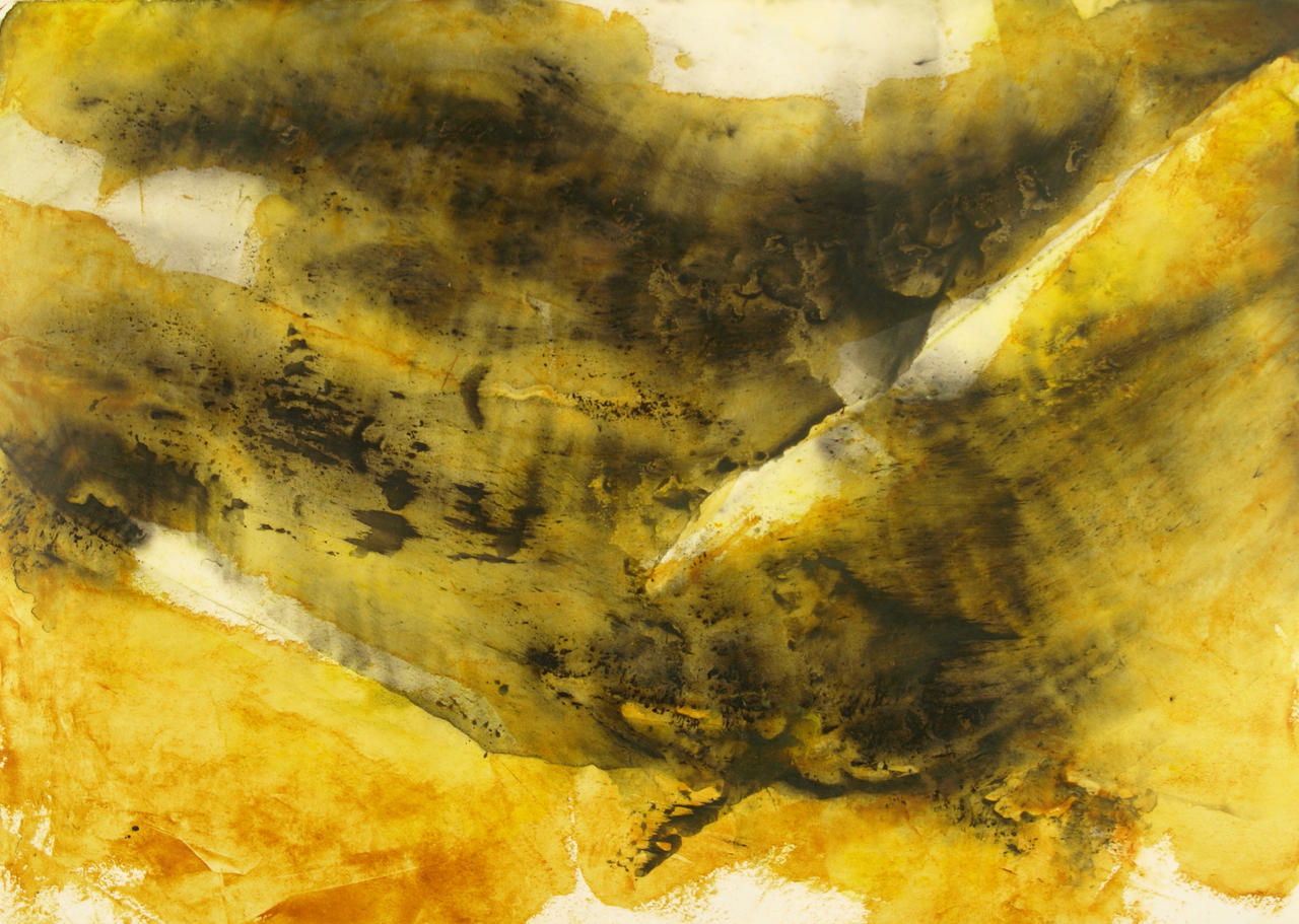 Abstract Black and Yellow