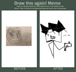 DON'T draw this again (because both are horrible)