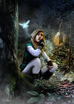 Link in the woods (Link Series, Picture 1/4)