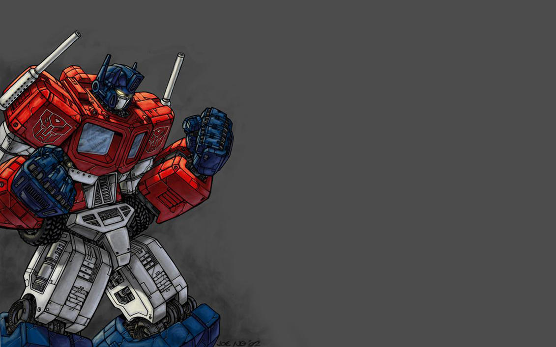 optimus prime wallpaperipanic on deviantart