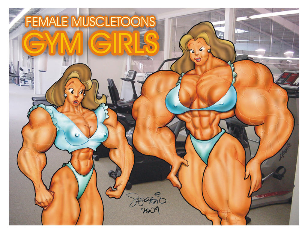 Female Muscle Growth Deviantart