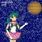 Cosmic Jupiter with her Planet