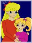 Minako and Charlotte