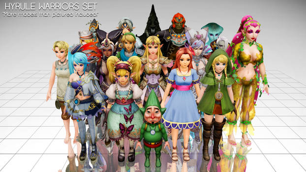 The Big Hyrule Warriors Pack -FINALIZED- by junk-hoes