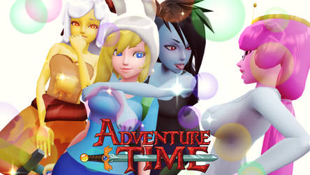 Adventure Time All Girls DL by junk-hoes