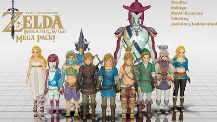 MMD - BOTW Pack by junk-hoes