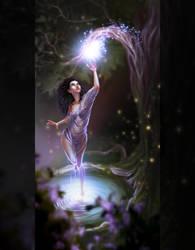 magical lights by Kisarra