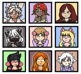 Draw Your Friend's OCs by Riveree