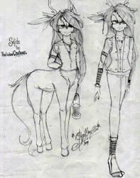 Solide the thalialand centaur by Slappymarryellen