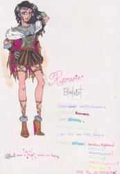 (HTTYD Fan character) : Romaria Bludvist by Slappymarryellen