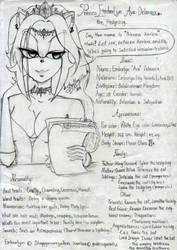 Introducing : Emberlyn Ava Delavaux the hedgehog by Slappymarryellen
