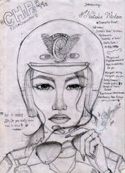 CHiPs '99 fanchar : Officer Natalie Winters by Slappymarryellen