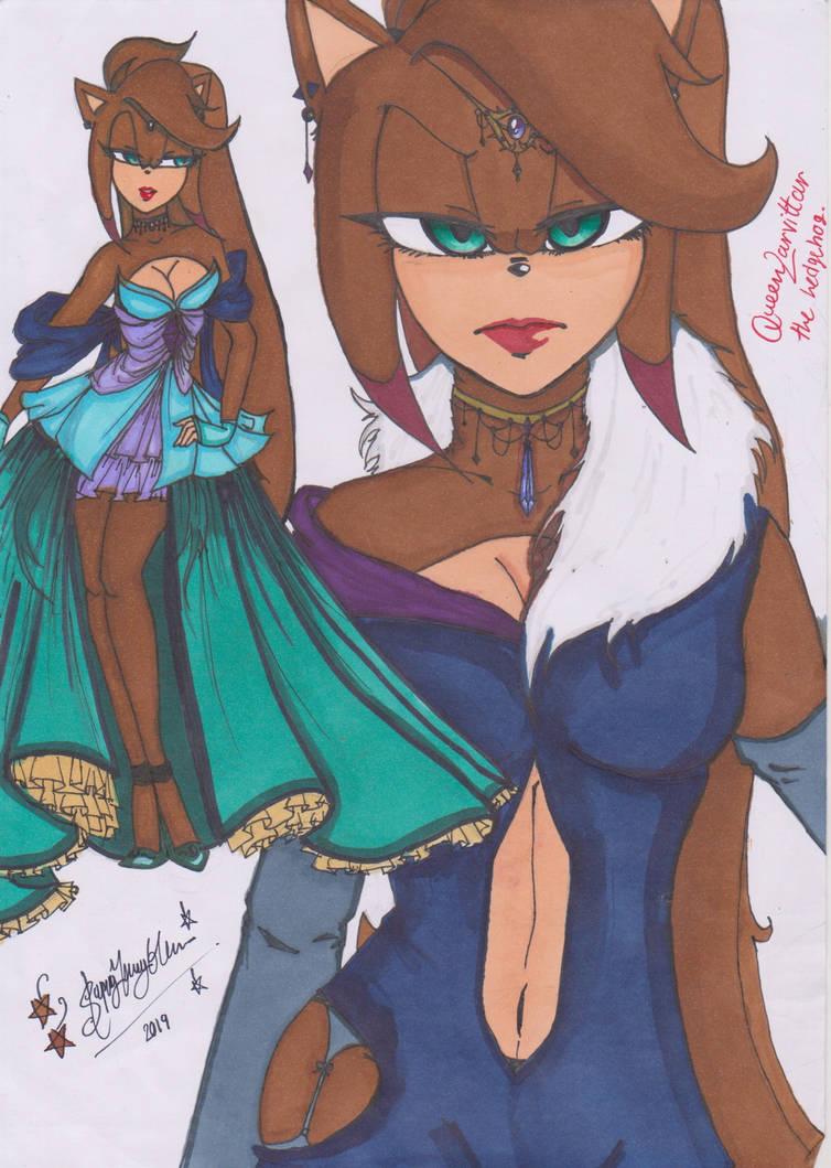 Introducting : Queen Larvittar the hedgehog by Slappymarryellen