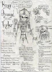 Osmond Garret Tyler III by Slappymarryellen