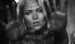 Nastya. Portrait.