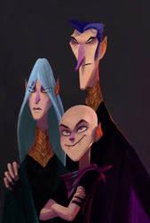 Vampire family by a3bashir