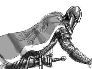knight at the ready