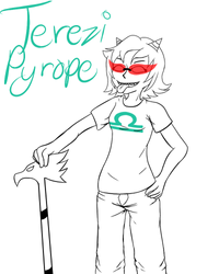 WIP - Terezi Pyrope by VeoGirl