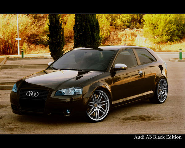 audi a3 tuned by benidino on deviantart. Black Bedroom Furniture Sets. Home Design Ideas