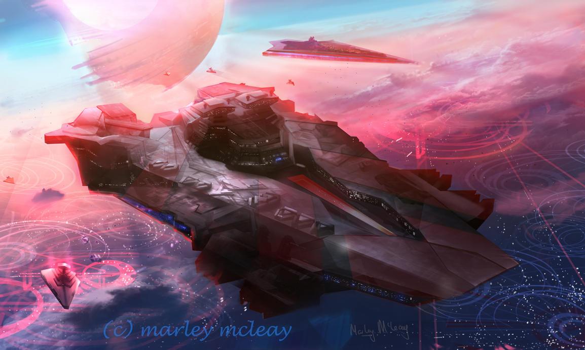 Ultra Star Destroyer by thraxllisylia