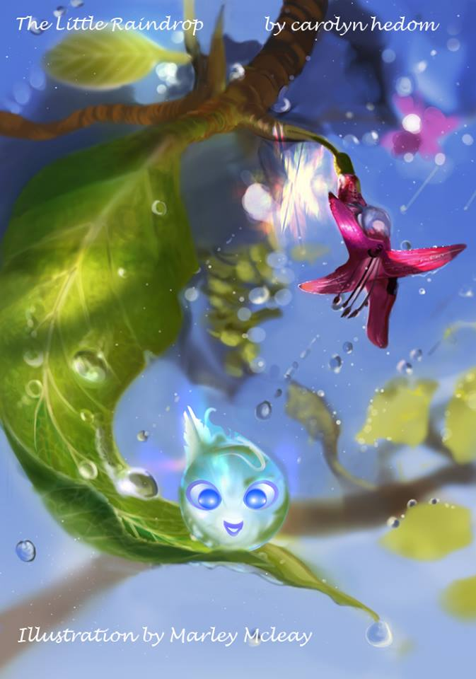 A Beautiful Raindrop by thraxllisylia