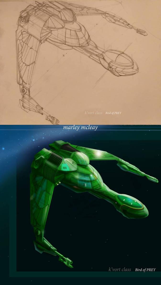 K-Vort Class Klingon Bird of Prey