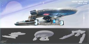 Starfleet COE 'Support Vessel' STAR TREK DSC