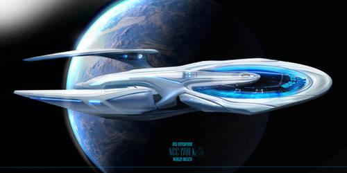 USS Enterprise K sides profil