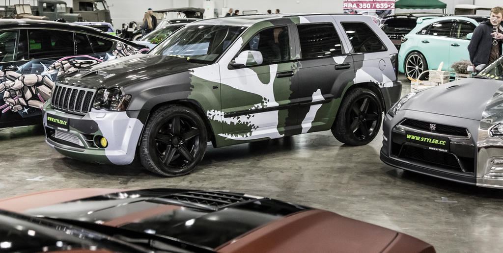 Jeep Grand Cherokee Srt8 Wallpaper >> 2005 Jeep Grand Cherokee SRT 8 Camo Vinylography by Fabien ...