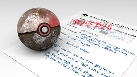 Rejected Pokeball #06: Next Gen Ball