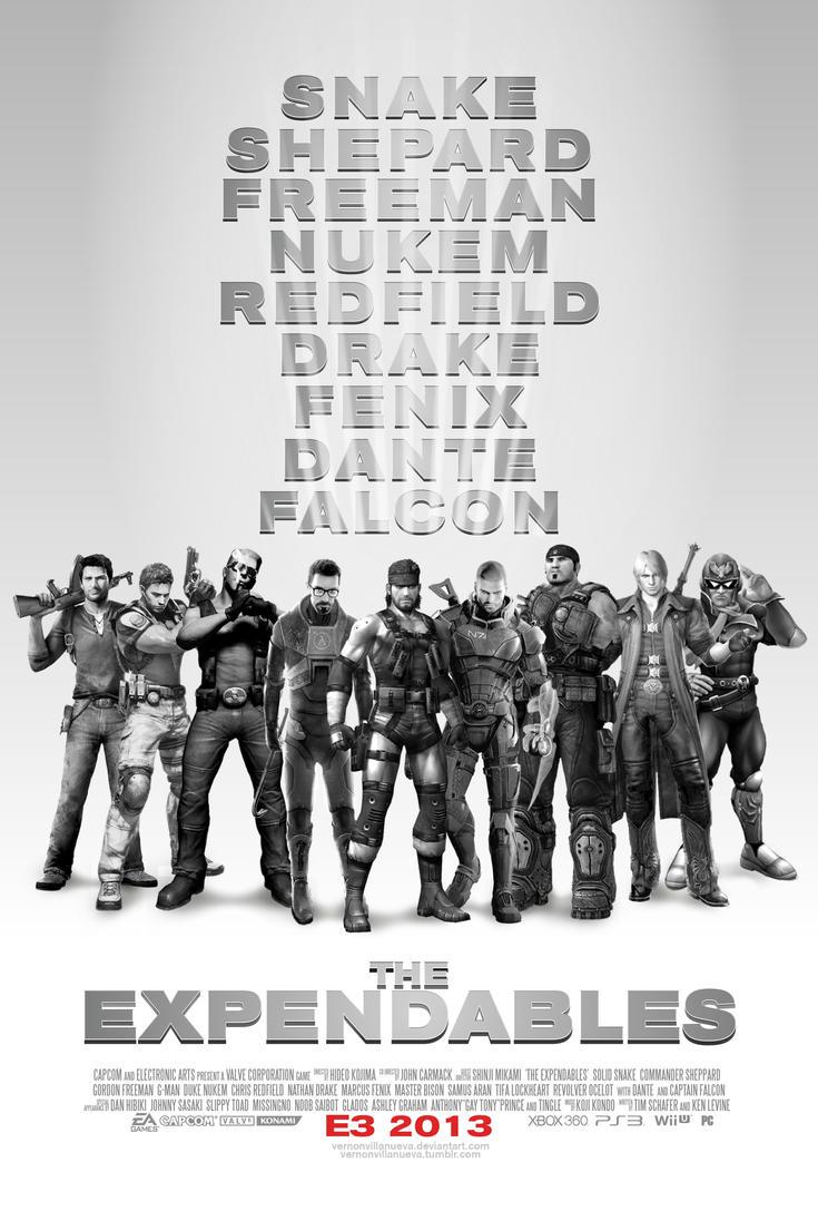 The Expendables: Video Game Unit by VernonVillanueva