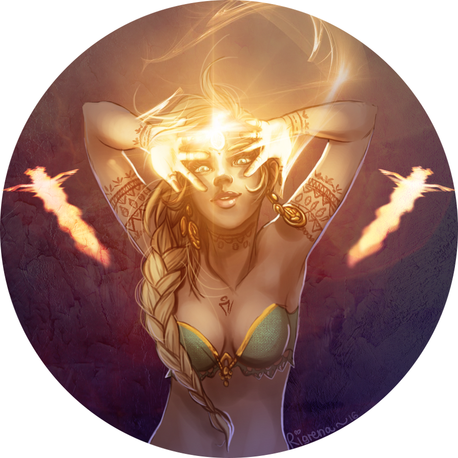 Shimmering light by Rigrena