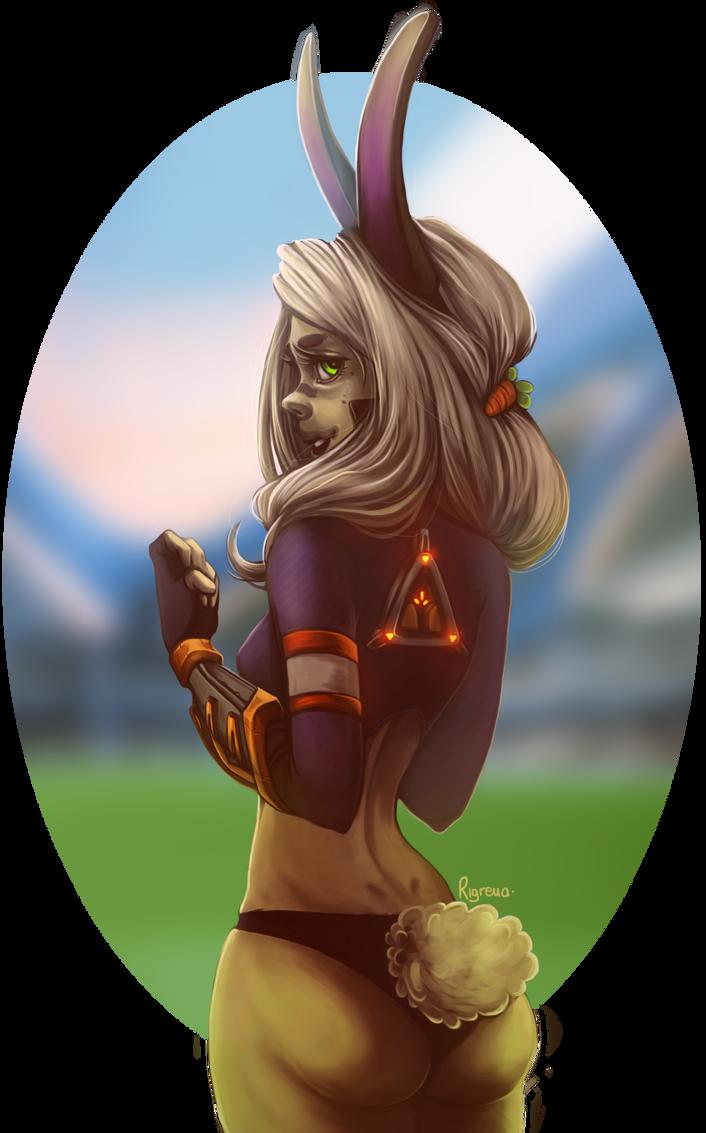 Bunny girl by Rigrena