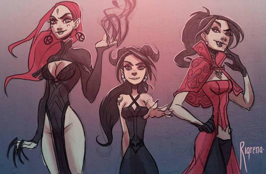 Daughters of darknesd