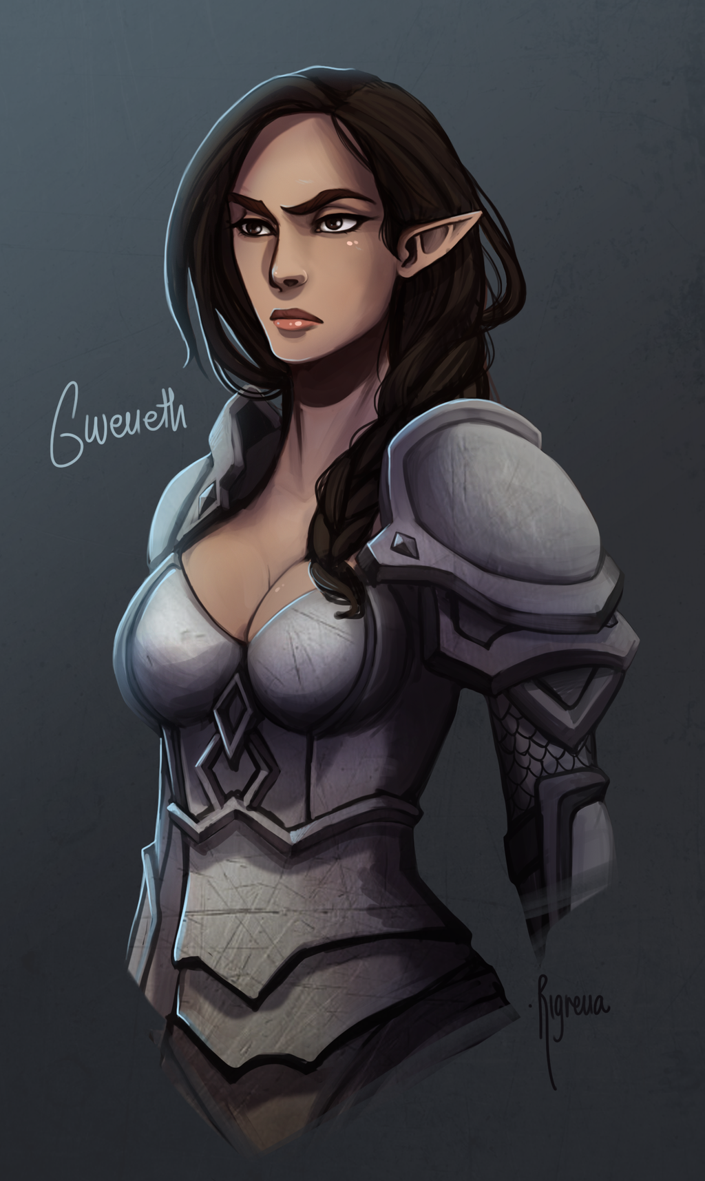Gweneth Sunsword by Rigrena